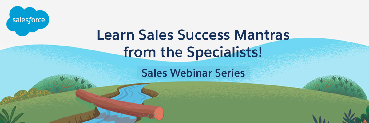 Sales Webinar Series by Salesforce