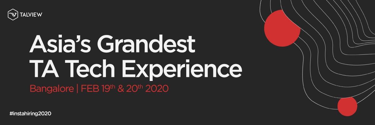 Instahiring 2020 - Asia's Grandest TA Tech Experience