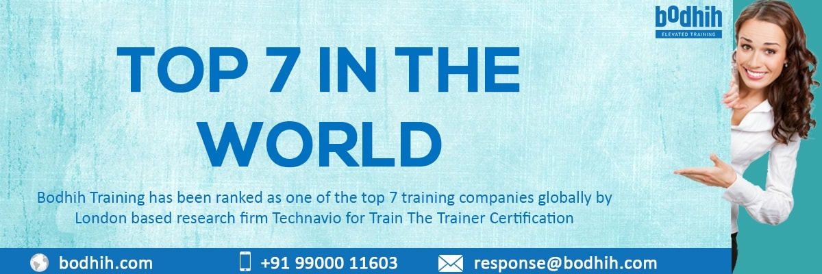 Train The Trainer Certification || Bangalore || Bodhih Training