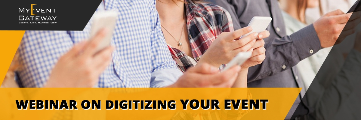 Webinar on Digitizing Your Event