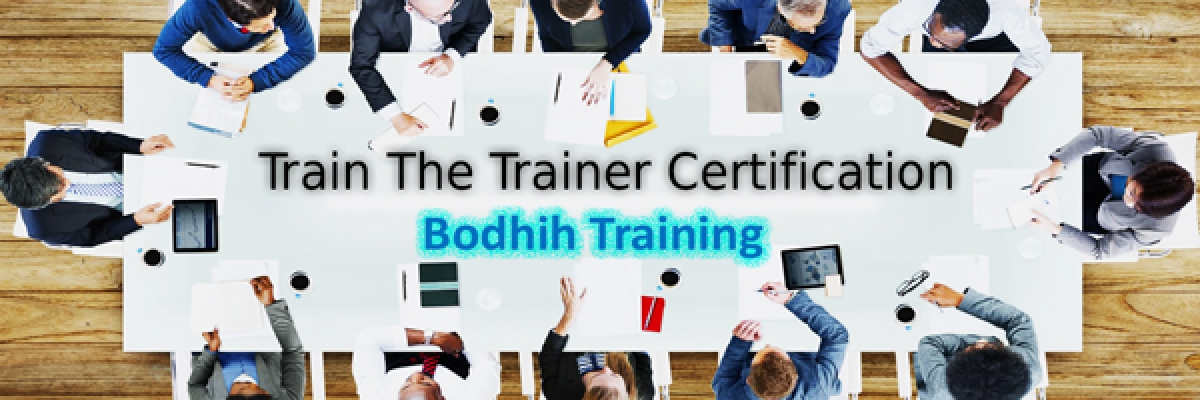 Train The Trainer Certification Workshop